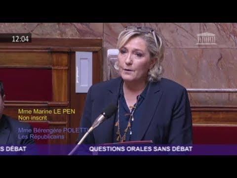 Marine Le Pen interroge la Ministre des Armées sur la prise en charge des blessés de guerre