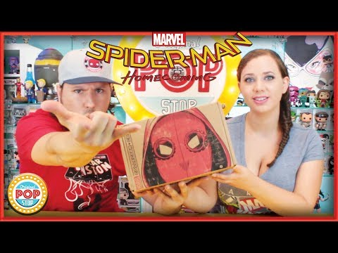 Marvel Collector Corps : Spider-Man Homecoming   June 2017 UNBOXING