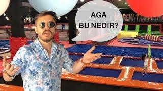 TRAMBOLİN PARK'A GİTTİM (İLK DEFA)