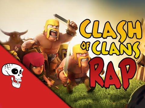 Clash of Clans Rap by JT Music -