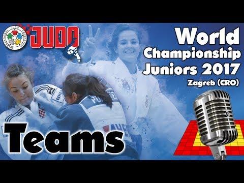 World Judo Championship Juniors 2017: Teams