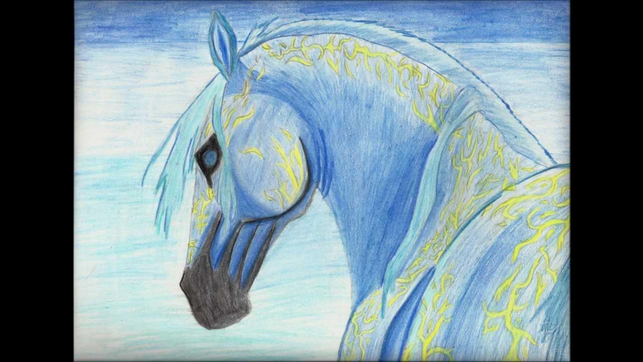 i miei disegni sui cavalli youtube