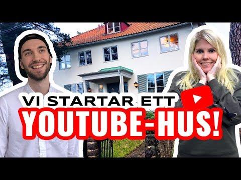 SVERIGES FÖRSTA YOUTUBE-HUS - Visar vår nya Lyxvilla! | House tour