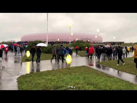 Bayern München vs Borussia Dortmund - DFB Pokal LIVE an der Allianz Arena 26.04.2017 Video 1/4