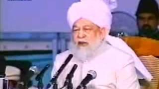 Islamische Frage und Antwortsitzung mit deutschen Gästen auf Jalsa Salana - Islam Ahmadiyya Muslime