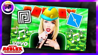 If TAYLOR SWIFT Played ROBLOX (Roblox Music Videos)