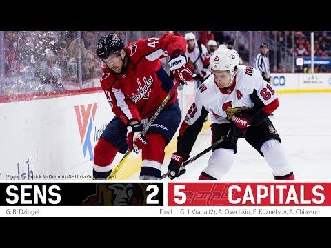 Nov 22: Sens vs. Capitals - Players Post-game