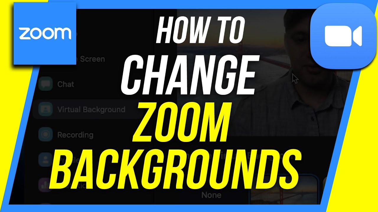 How To Change Your Background In Zoom Zoom Virtual Background