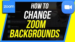 How to Change your Background in Zoom - Zoom Virtual Background