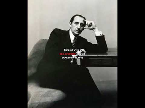 Vladimir Horowitz live in New York 1946.04.24