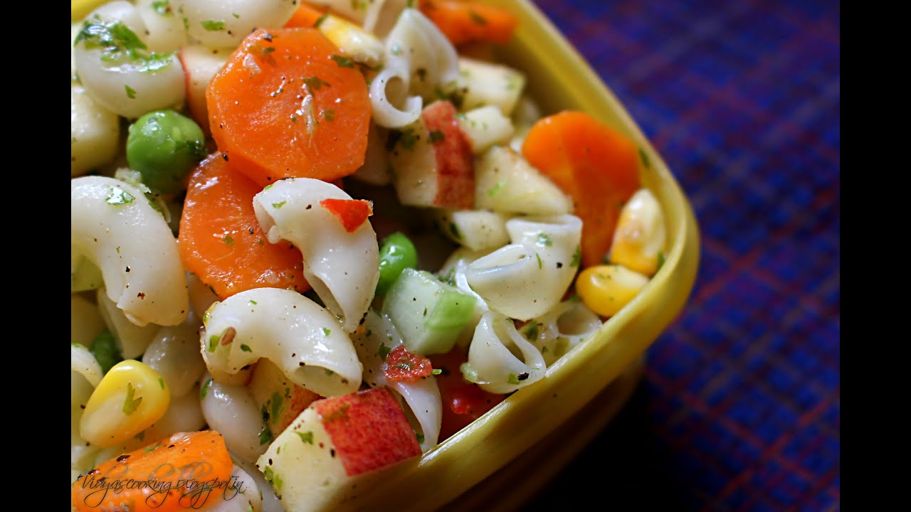 Macaroni salad recipe in tamil youtube forumfinder Images