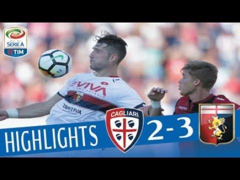 Cagliari - Genoa 2 - 3 - Highlights - Giornata 8 - Serie A TIM 2017/18