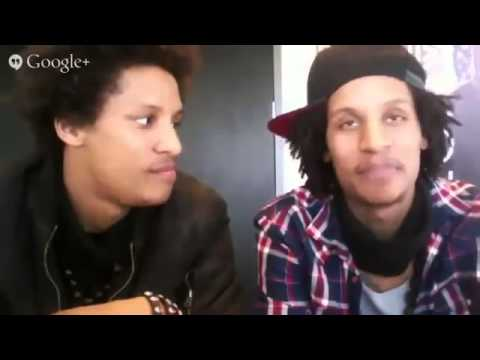 Google Hangout with Les Twins
