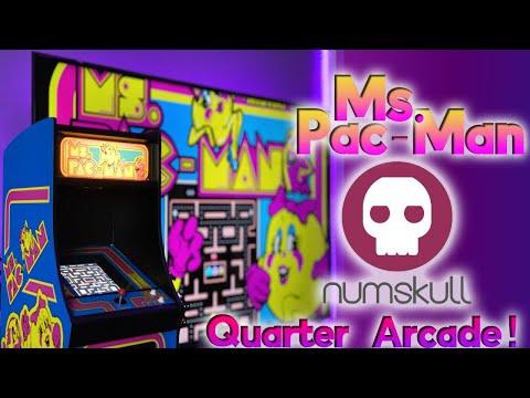 Numskull Ms. Pac-Man Quarter Arcade Review!