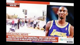 MSNBC Reporter Calls LA Lakers The N Word While Discussing #KobeBryant's Death - Ahmadiyyah Sha