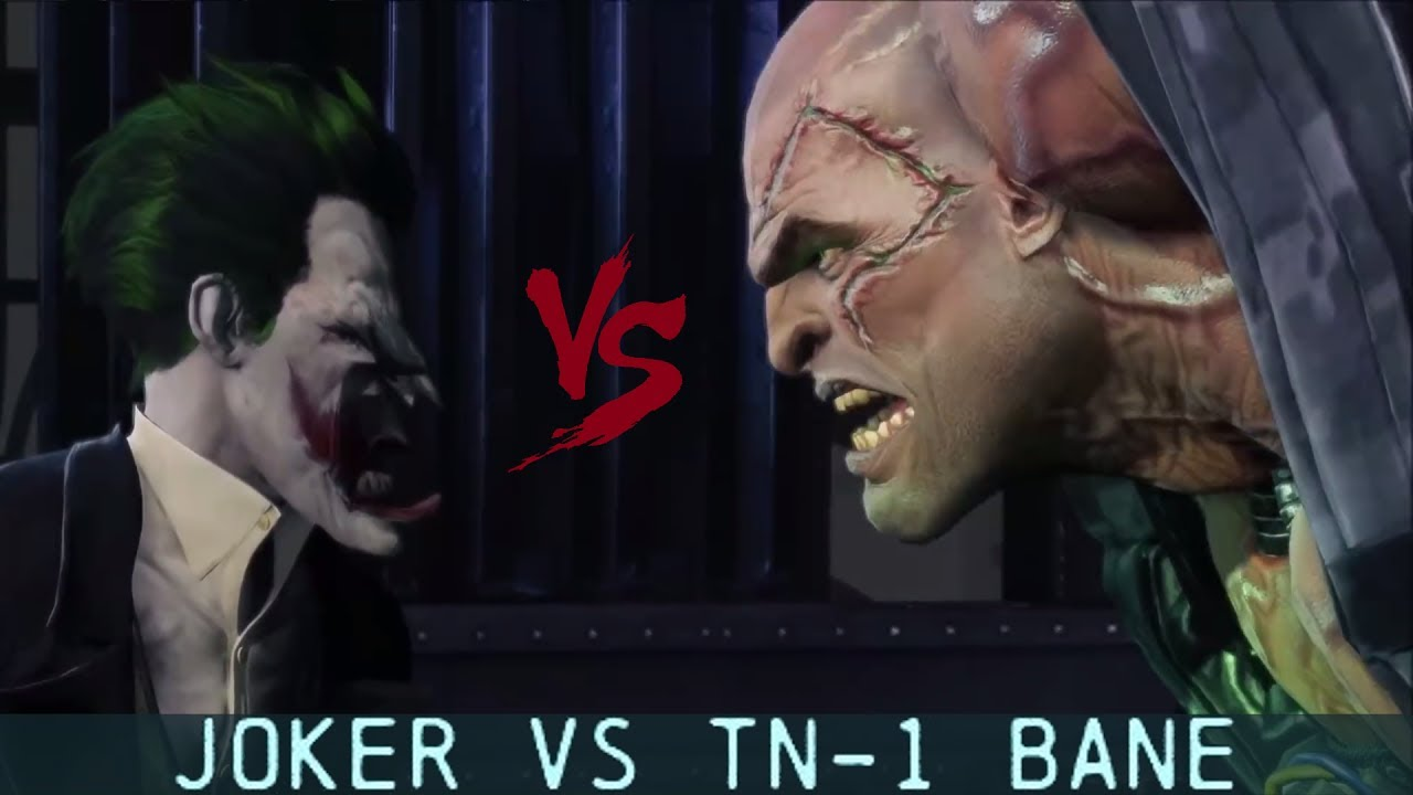 CHAR SWAPS; Batman; Arkham Origins; Joker Vs TN-1 Bane ...