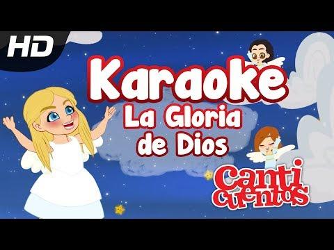 La Gloria De Dios Karaoke, Juana, Canción Infantil - MundoCanticuentos