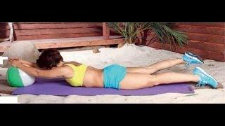 Упражнения для похудения. Как убрать живот и похудеть в ногах(Комплекс упражнений для похудения. Преобладают упражнения для ног и живота. Эти упражнения для похудения..., 2014-01-03T11:30:39.000Z)