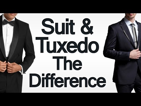 The Difference Between Suits Amp Tuxedos 3 Tips To Choosing Between A Suit Amp A Tuxedo Youtube