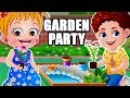 Baby Hazel Garden Party | Fun Game Videos By Baby Hazel Games