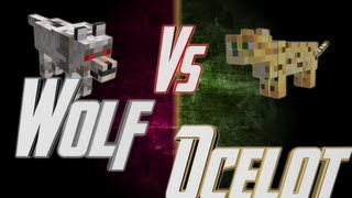 Epic Rap Battles of Minecraft - Wolf vs Ocelot - Epic Rap Battles of Minecraft #18
