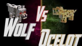 Epic Rap Battles of Minecraft - Wolf vs Ocelot - Epic Rap Battles of Minecraft #18