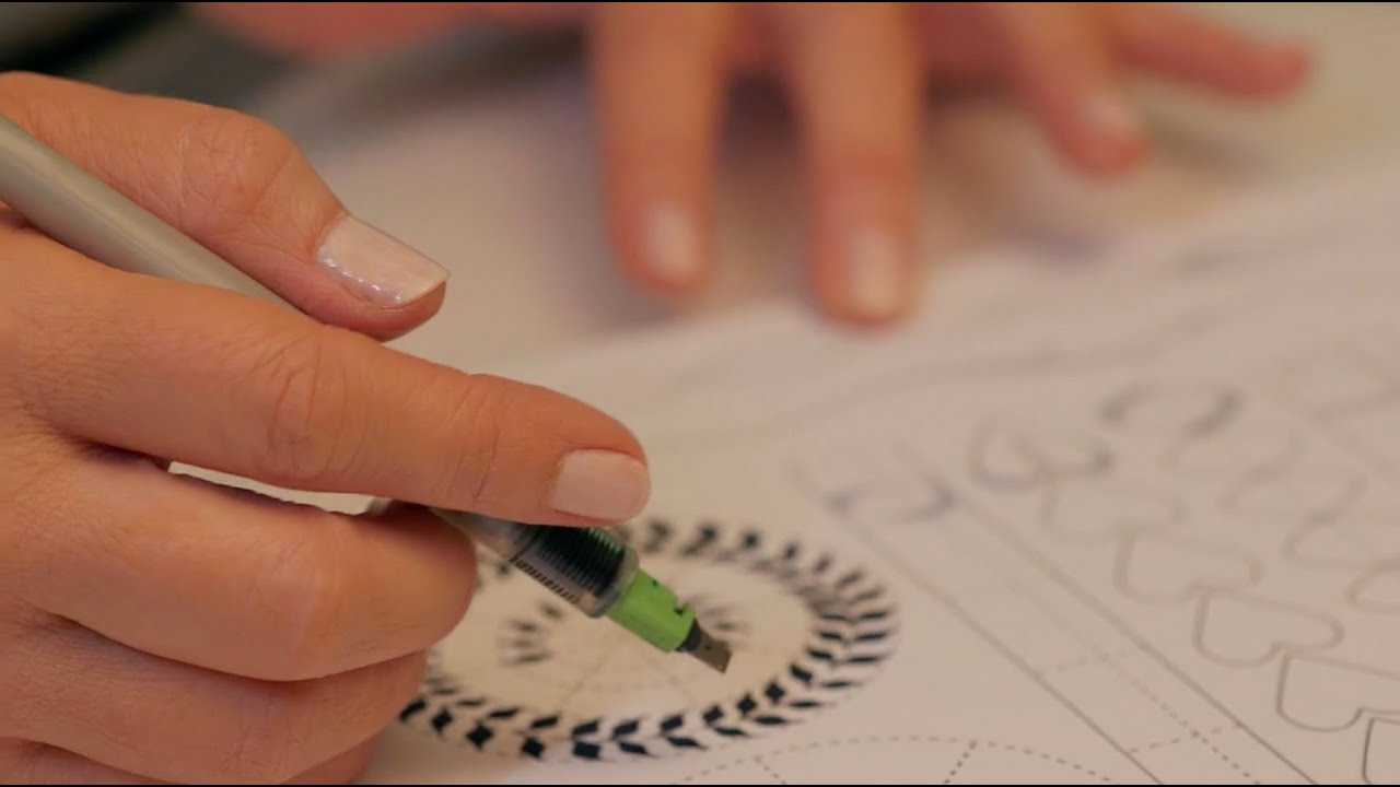 Online calligraphy classes getting comfortable with the Calligraphy course