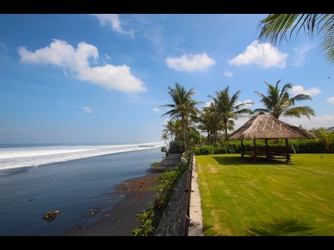 Absolute Beachfront Villa For Sale in Bali With Extra Land For Development