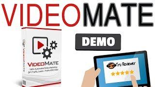 VideoMate Review Demo - Grab My Video Based 60+ Mega Bonus