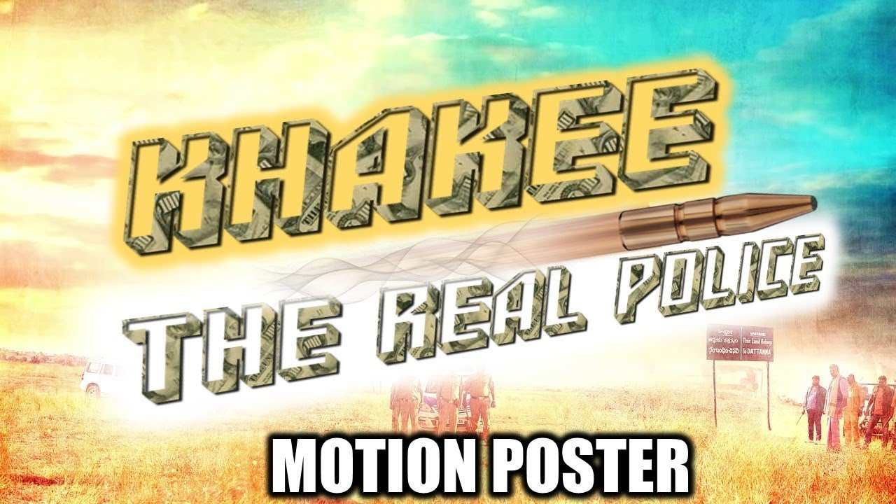 Khakee : The Real Police (Thoongavanam) 2018 Hindi Dubbed Motion Poster | Kamal Hassan, Trisha