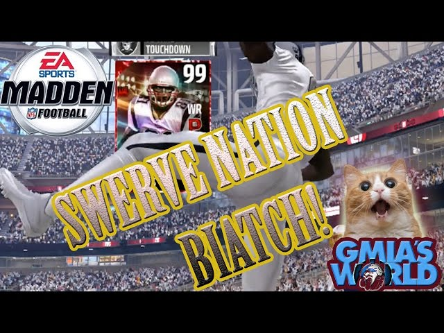 99 ULTIMATE LEGEND RANDY MOSS SWERVES GMIA TO VICTORY! #MORELIFE | MADDEN 17 ULTIMATE TEAM GAMEPLAY