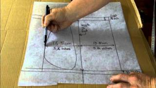 Making The Moccasin Pattern. Part 2