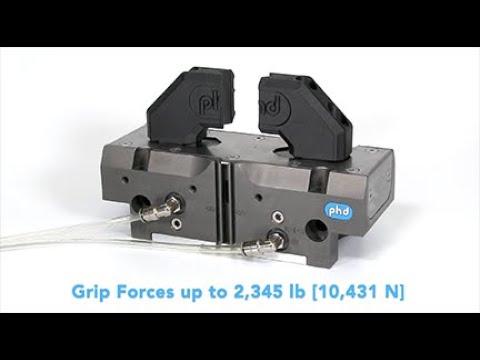 GRK Parallel Pneumatic Heavy-Duty Gripper