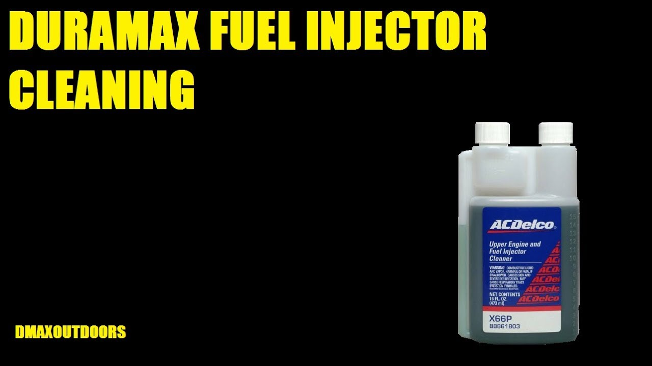 DURAMAX FUEL INJECTOR CLEANING