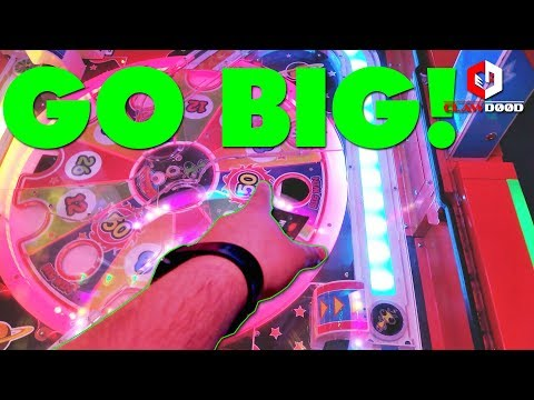 Go BIG or Go Home! | UFO Express Arcade Game at Main Event Entertainment | Winning Ticket Jackpot!