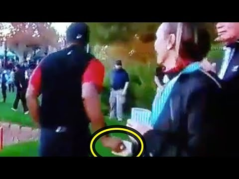 Tiger Woods CAUGHT Picking Up A Woman During Match!