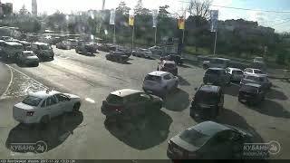 ДТП на ул. Зиповская и Ростовское шоссе 22.11.2017