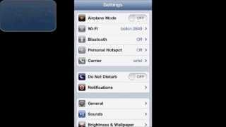 HOW TO DISABLE OR ENABLE CALL WAITING IN IOS 6 (IPHONE 5)