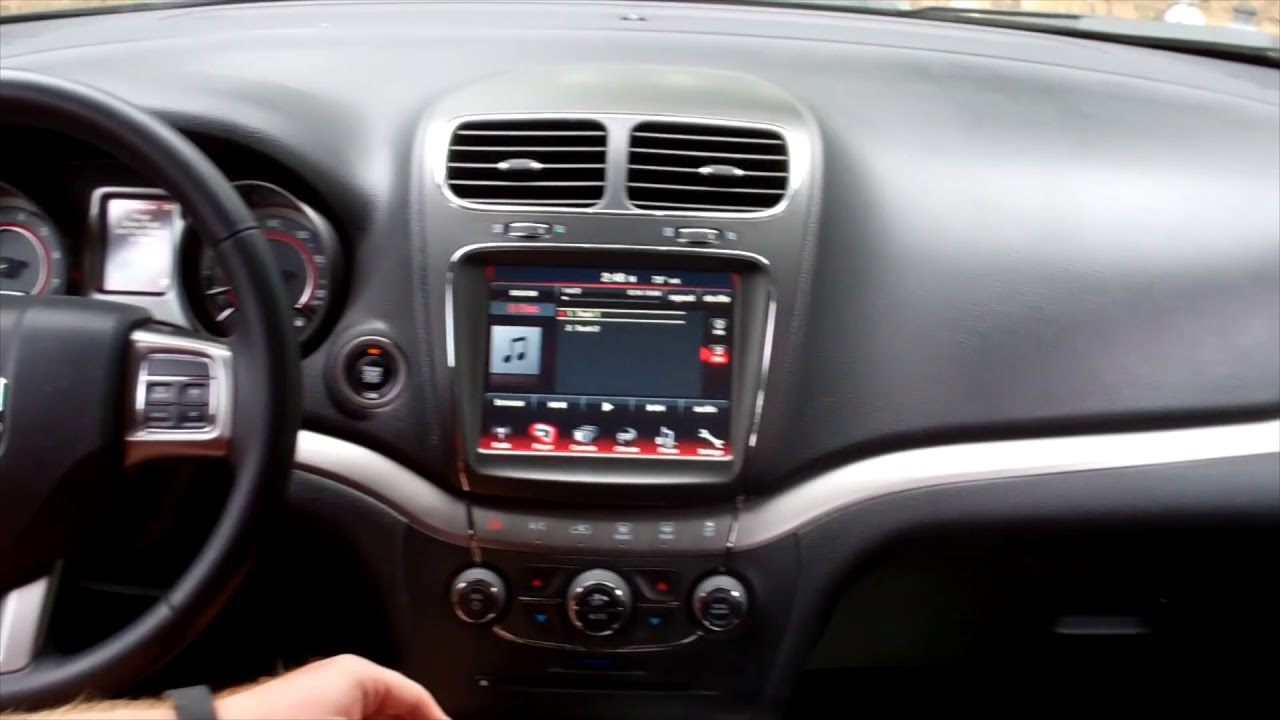 How to connect Aux In Dodge Journey ('17)