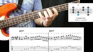 Bass Technique - Fluency Exercise #2
