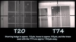 IR Torch Comparison T20 T74