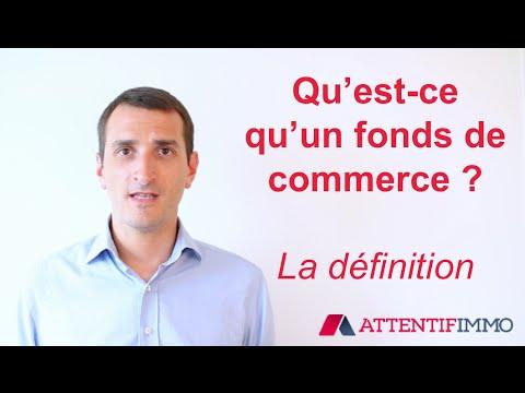 Définition Fonds De Commerce