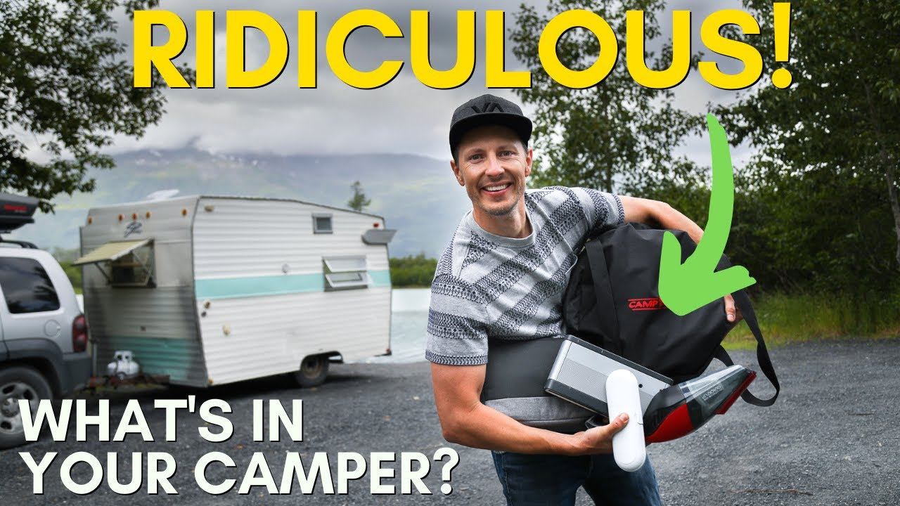 8 RIDICULOUS Things You Won't Believe We Bring Camping!