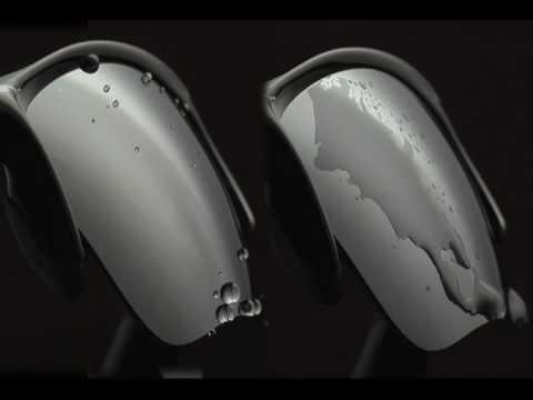 d3b328d5052 Oakley Hydrophobic lens - YouTube