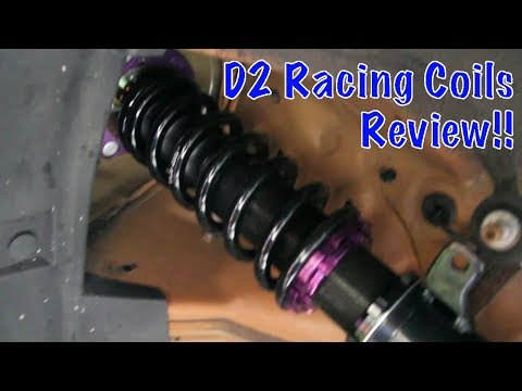 D2 Racing RS Coilovers Review for 14-15 Civic Si