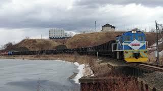 さようなら釧路石炭列車(太平洋石炭販売輸送臨港線)ラストラン往路