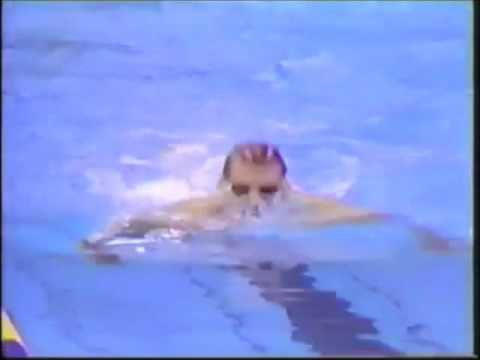 200meters Breaststroke Final 1988 Seoul Olympics - Sergio Lopez (Spain) Bronze