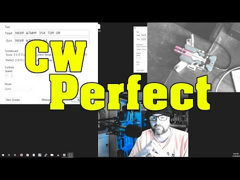 CW Practice Software | Perfect CW! - YouTube