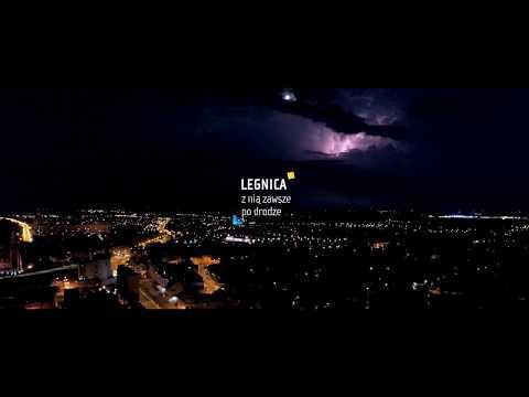 Legnica nocą 2017