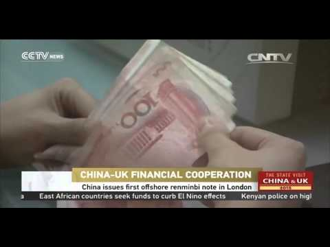 China issues first offshore renminbi note in London